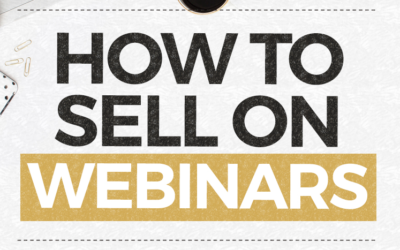 How to Sell On Webinars