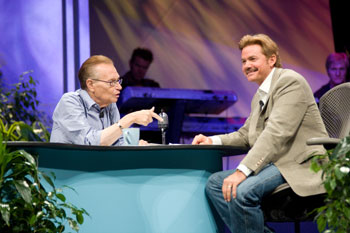 Tim Sales and Larry King